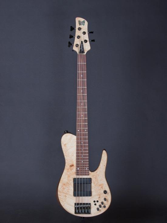 Fodera Matt Garrison Standard Bass - full view front