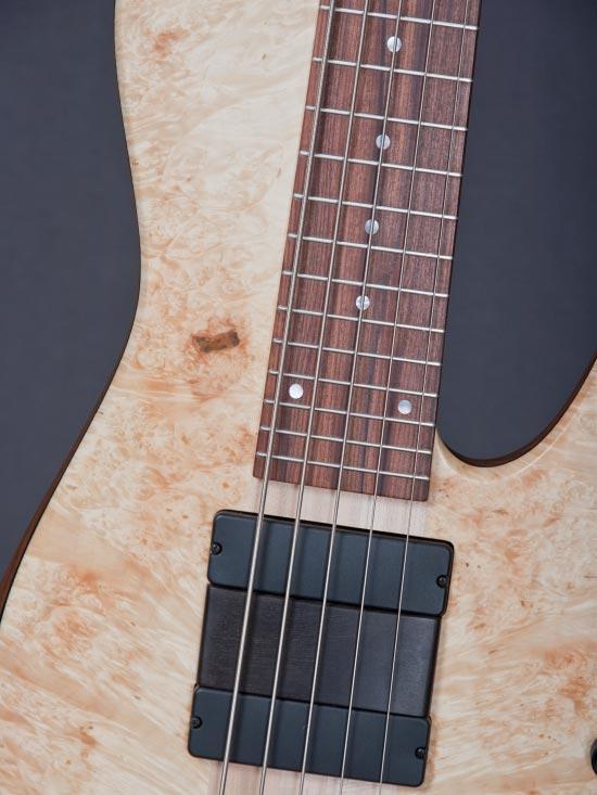 Fodera Matt Garrison Standard Bass - pickups