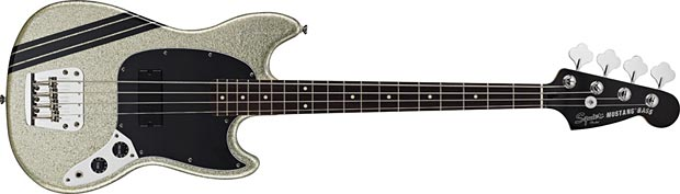 Squier Announces Mikey Way Signature Mustang Bass