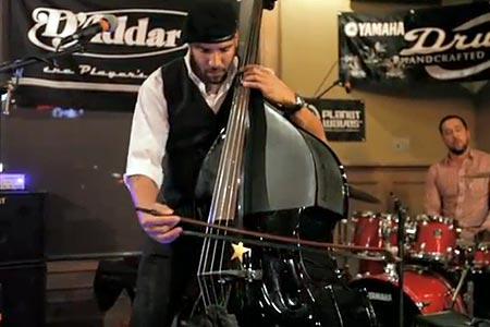 Miles Mosley: Bass Bash Performance (NAMM 2012)
