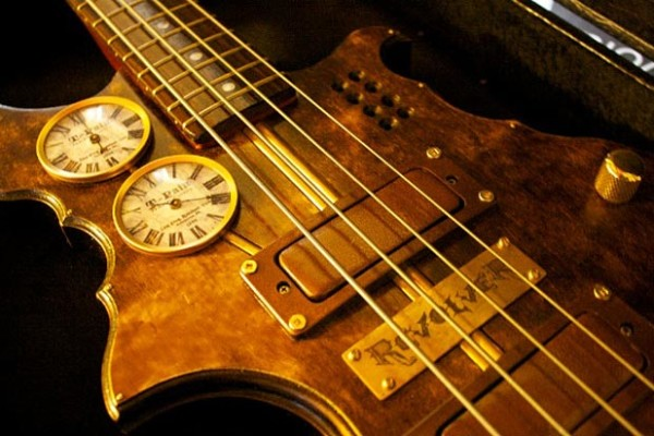 Bass of the Week: Thin Gypsy Thief Studio's RevolveR Steampunk Bass