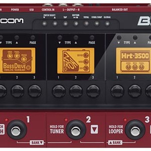 Zoom Debuts New B3 Bass Effects and Amp Simulator Pedal at NAMM