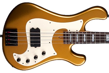 Dean Releases Eric Bass Signature Hillsboro Bass in Metallic Gold