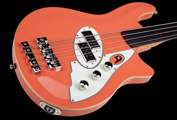 Duesenberg D-Bass Fretless Bass - body