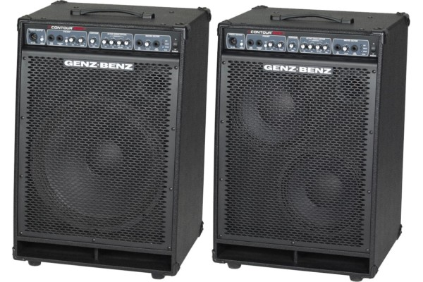 Genz Benz Introduces Contour 500 Series Combo Bass Amps