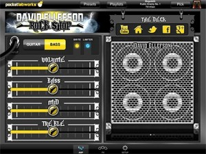 David Ellefson Rock Shop App - amp settings
