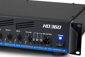 EBS Updates High Definition Series Bass Amps with HD360