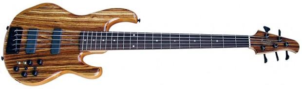 Kinal Guitars SK-21 Zebra Bass