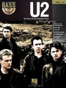 U2: Bass Play-Along Volume 41