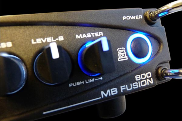 Gallien-Krueger Announces MB Fusion 800 Bass Amplifier