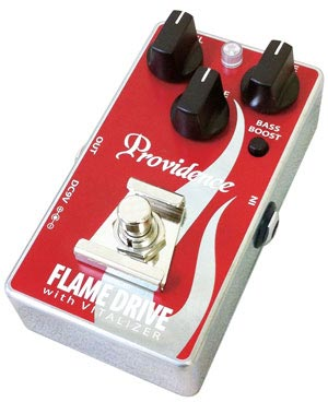 Godlyke Debuts Providence FDR-1 Flame Drive Pedal