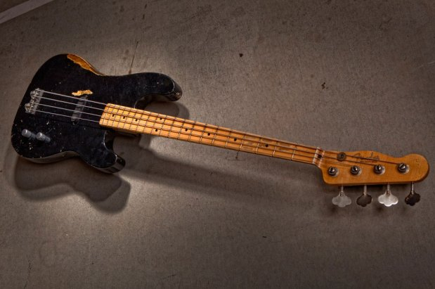 Fender Custom Shop Dusty Hill Precision Bass