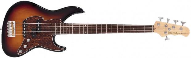 Fret-King Black Label Series Perception 5-String Bass Guitar