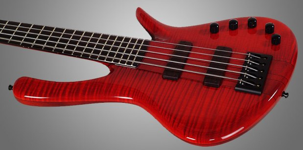 GMR Bass Guitars Bassforce NT - Red