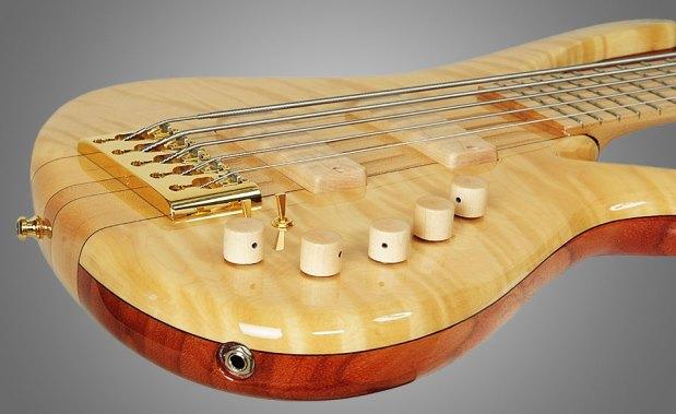 GMR Bass Guitars Bassforce NT - side view