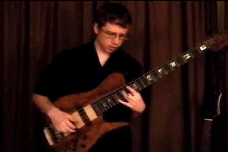 """Blake Branch: """"Space Lion"""" for Solo Bass"""