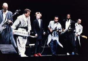 Peter Gabriel Band: 1987 line up with Tony Levin