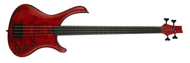 Blasius Bali Fretless Bass - front