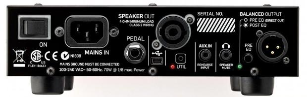 TC Electronic BH250 - back