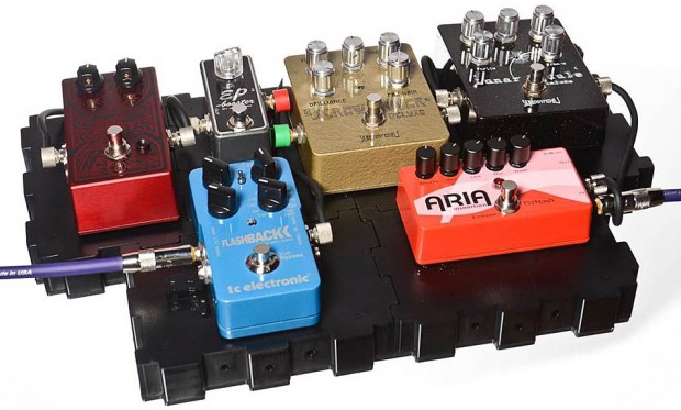 Lava Cable Grab N' Go Configurable Pedal Board System - with pedals