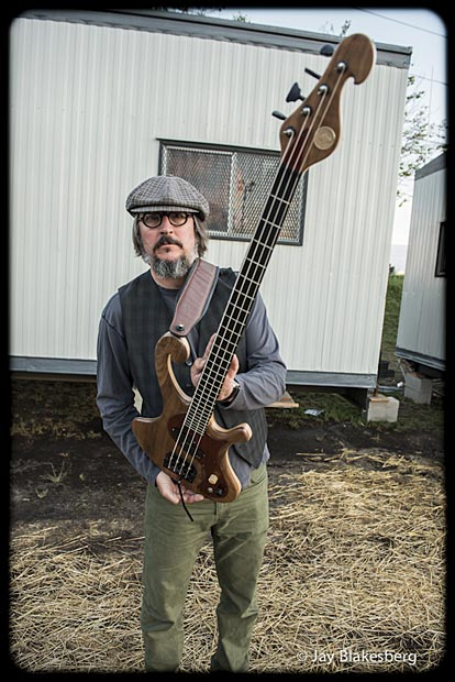 Les Claypool with Personal Pachyderm Prototype Bass