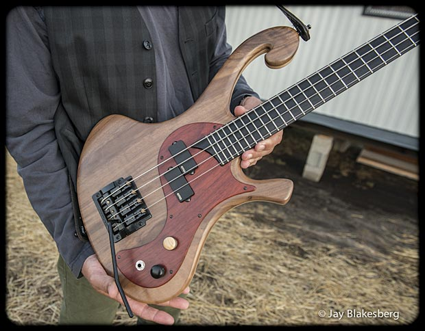 Les Claypool Personal Pachyderm Prototype Bass body