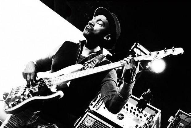 Marcus Miller performing