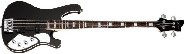 Schecter Stargazer-4 Bass - full size, black finish