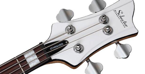 Schecter Stargazer-4 Bass headstock