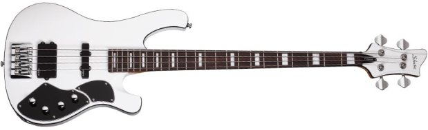 Schecter Stargazer-4 Bass - full size, white finish