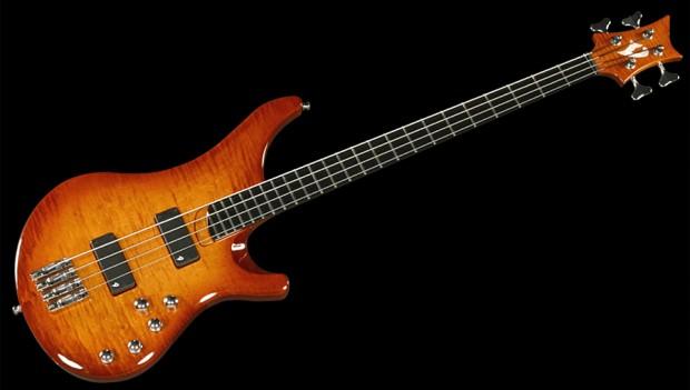 Vigier Arpege IV Bass - Amber finish