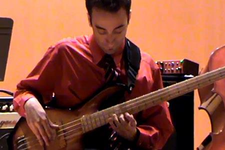 "Alfredo Guerrieri: ""Donna Lee"" Cover (Jaco Pastorius Inspired)"