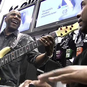 "Nathan East and David ""Fingers"" Haynes: NAMM Jam"