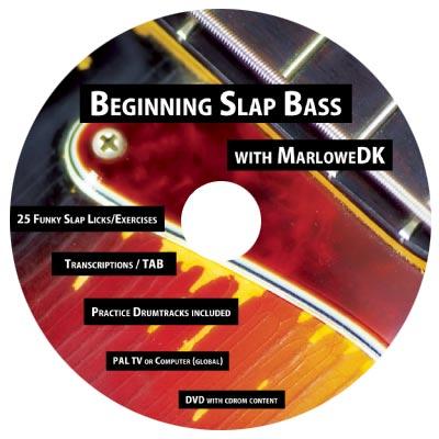 """MarloweDK Releases """"Beginning Slap Bass"""" DVD"""