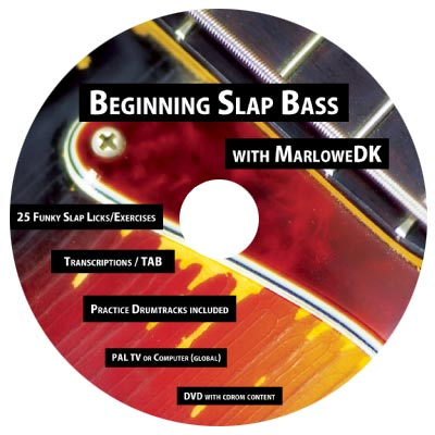 "MarloweDK Releases ""Beginning Slap Bass"" DVD"