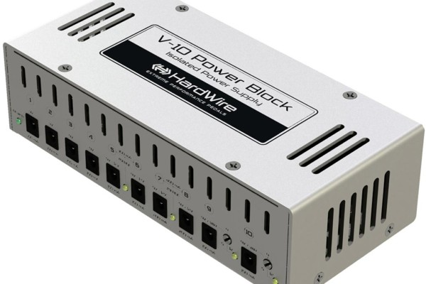 Digitech Announces Hardwire V-10 Power Block
