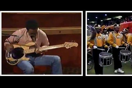 Mashup: Louis Johnson / Drumline Jam