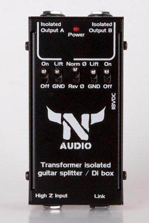 N-Audio Isolated Splitter / DI Box