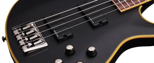 Schecter Blackjack ATX C-4 Bass body closeup