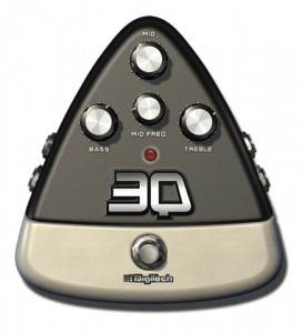 Digitech 3Q 3-band EQ E-Pedal for iStomp