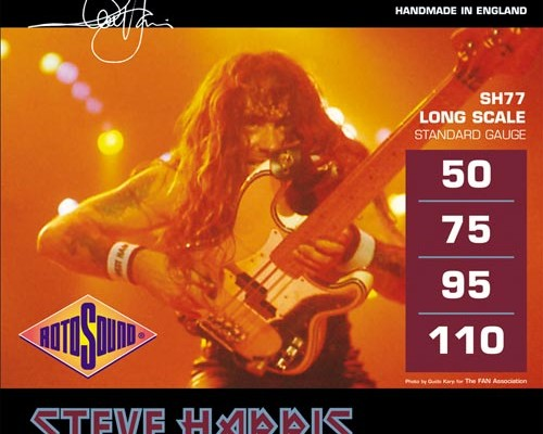 Rotosound Updates Steve Harris Signature Bass Strings