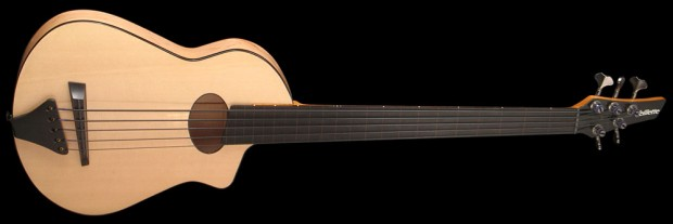Veillette Flyer Acoustic-Electric Bass 869