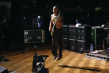 Red Hot Chili Peppers: Abbey Road Studios