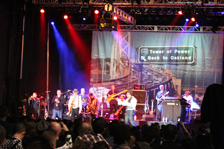 """Tower of Power: """"What Is Hip?"""" at 2013 NAMM Show"""