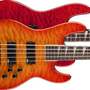 Jackson Introduces Quilted Maple Top Concert Basses