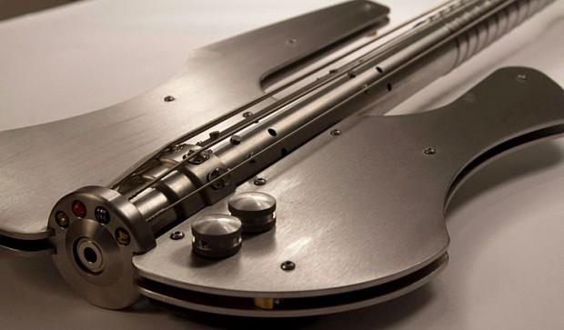 Stash Stainless Bass Guitar