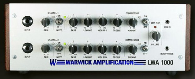 Warwick LWA 1000 Lightweight Bass Amplifier