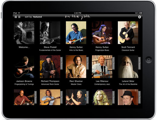 On the Music Path: A Look at the Music Lessons App for iPad