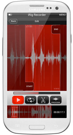 IK Multimedia iRig Recorder App for Android