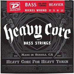 Dunlop Heavy Core Bass Strings